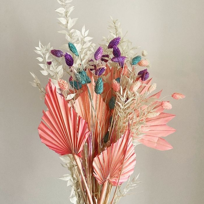 Pink Dried Arrangement
