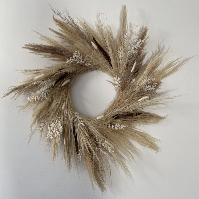 Pampas Grass Wreath