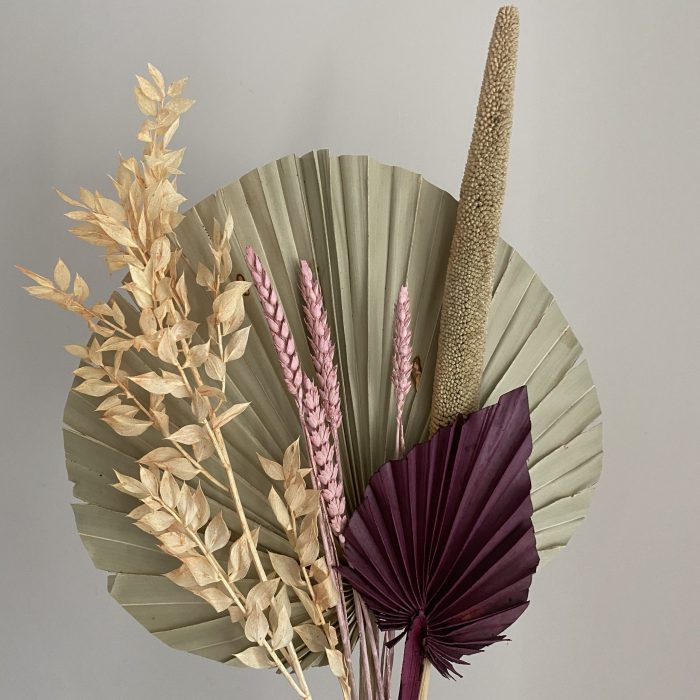 Dried Fan Arrangement