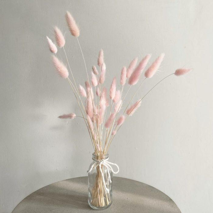 Pink Bunny Tail Bunch – Mini